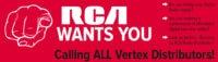 RCA Two-Way Radio Distributors Wanted